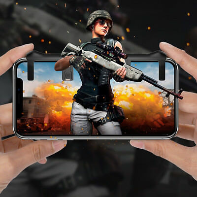 PUBG Mobile Phone Shooter Controller Gaming Trigger Gamepad Fire Button Handle A
