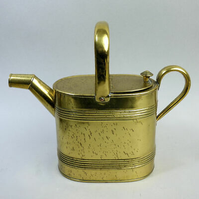 Edwardian Antique Brass Watering Can C.1910