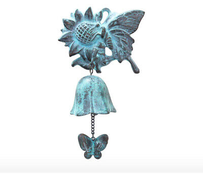Sunflower Casting Door Bell _Antique Style Casting Wind Chimes _Hanging Bell