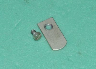 Rare Vintage Stepped Pulley Stop Plate Thorens Td124 Mki Mkii 100% Original