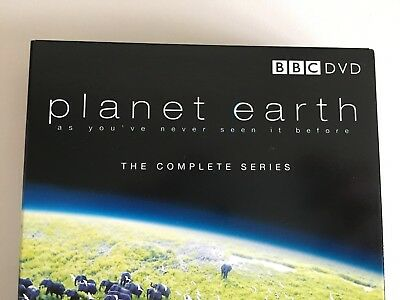 BBC Planet Earth - The Complete Series - 5 Disc Box Set - Sir David Attenborough