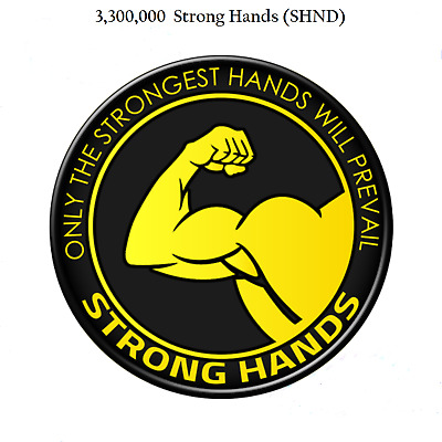 Mining Contract 6 Hours 3,300,000 Strong Hands (SHND) 3.3 Million
