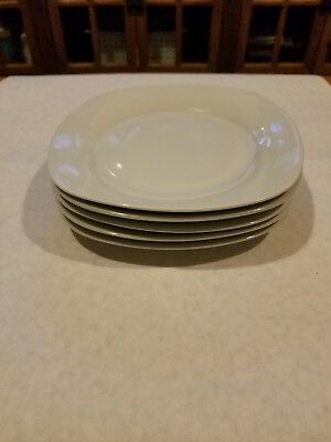 "5 Soft Square by Home SALAD PLATE 7 5/8"" in EUC"