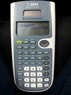 Texas TI-30XS Multiview calculator wetenschappelijk / calculatrice scientifique