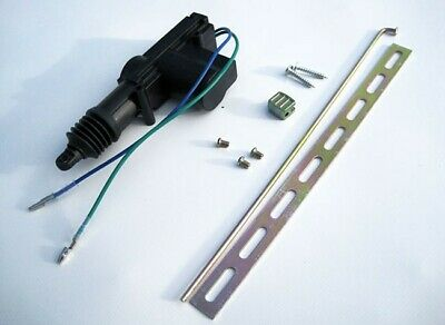Universal Car Central Keyless Entry Locking Solenoid Actuator Motor Auto 2 Wire-