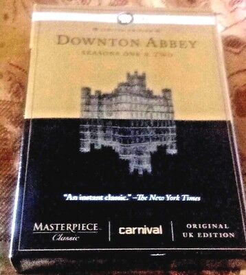 DOWNTON ABBEY Seasons One & Two. DVD