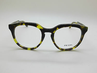 25cb51b02e NEW Authentic PRADA JOURNAL VPR 13S UBN-1O1 Tokyo Tortoise Eyeglasses 48mm