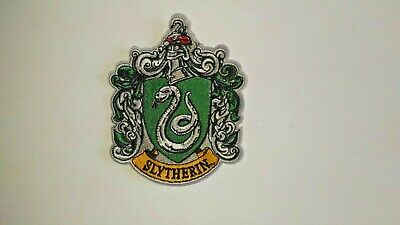 Patch écusson Harry Potter slytherin 8,5 cm x 10,5 cm