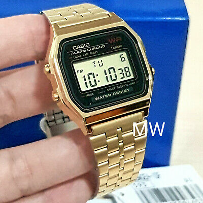 9d5be9864bbc New Casio Vintage Retro Digital Gold Watches A159Wgea-1D Japan Old Skool  Classic