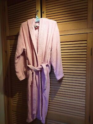 72cd764c92 Unisex Luxury 100% Egyptian Cotton Terry Towelling Bath Robe Dressing Gown  Towel