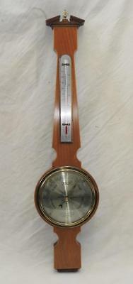 "Comitti Banjo Style Aneroid Barometer with 6"" Dial"