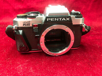 Pentax Program Plus 35mm Film PK Lens Mount SLR Camera Body Only with strap