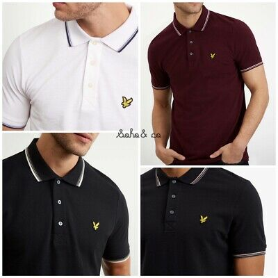 Lyle and Scott Tipped Polo Shirt