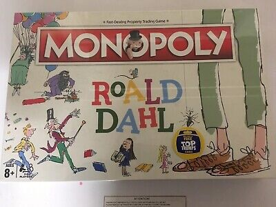 Christmas Board Games 2019.Board Traditional Games Monopoly Roald Dahl Board Game