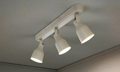 Ikea Hektar Ceiling Spotlights Three Track White 10 00