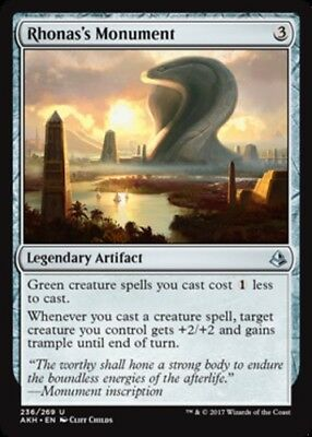 4x Edifice of Authority NM-Mint English Amonkhet MTG Magic