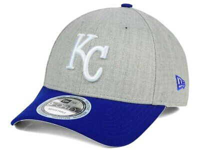 c333767e0f3 Kansas City Royals NEW New Era MLB Heather Hit 9FORTY Cap Hat 887143 OS  28