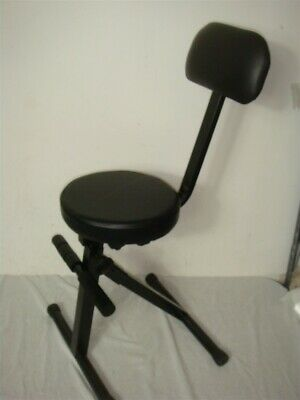 Rockville Rds40 Portable Dj/Guitar/Drum/Keyboard Padded Adjustable Throne/Chair