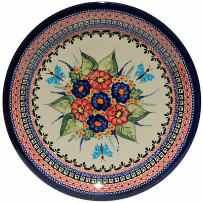 "Polish Pottery Dinner Plate 11"" from Zaklady Boleslawiec Polish 1014-149ar"