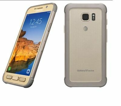 Samsung Galaxy S7 Active 32GB G891A - Gold GSM UNLOCKED AT&T T-MOBILE