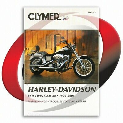 2001-2004 Harley Davidson FXDP DYNA POLICE Repair Manual Clymer M425-3 Service