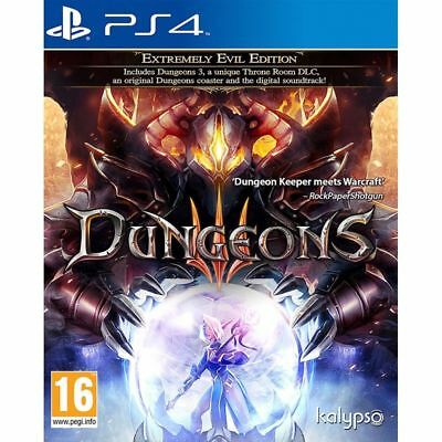 Dungeons III Extremely Evil Edition PS4 Game PAL Version New Aussie Seller SALE