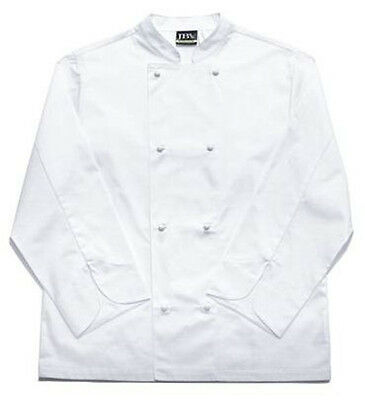 JB's Vented Chefs Jacket Long Sleeve White size 2XL keep cool in the kitchen