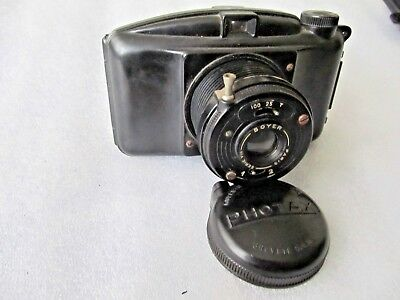 Vintage 1947-51 MIOM Photax Boyer Series viii Paris Bakelite 620 film camera