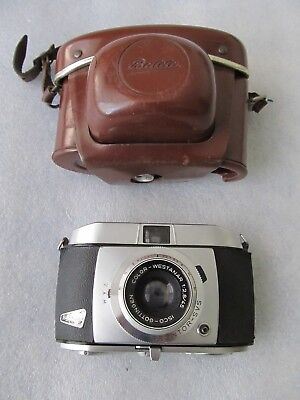 Interesting Vintage Balda Baldessa 1960s 35mm Compact Viewfinder Camera & Case