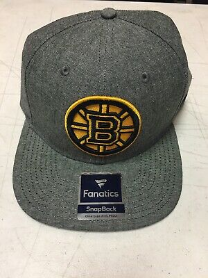 Clothing, Shoes & Accessories Nhl Boston Bruins Adidas Practice Fitted Cap Hat Headwear Mens