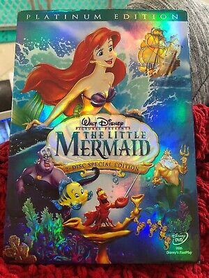 The Little Mermaid (DVD, 2006, 2-Disc Set ) Platinum Edition