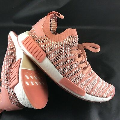 e837a6b1f19 Women s Adidas NMD R1 STLT PrimeKnit Multi-Color CQ2028 ash pink orchid  tint 8.5