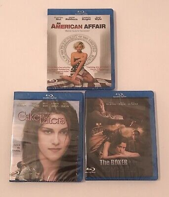 Lot Of 3 BluRay: An American Affair, Cake Eaters, The Boxer & The Bombshell -New