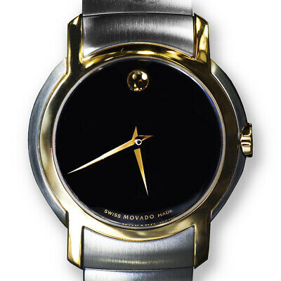 Movado SL 0605720 Museum Black Dial Ladies Watch, New in Box with Price Tag
