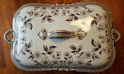 """ANTIQUE A.F. & Co. """"FOLEY"""" PATTERN VEGETABLE DISH STAFFORDSHIRE GREAT CONDITION."""
