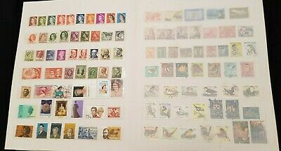 Vintage Australian Stamp Collection with Display Album
