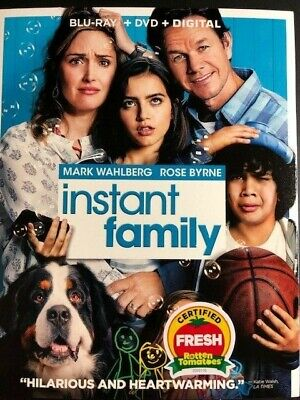 Instant Family (Blu-Ray/DVD/Digital 2 Disc 2019)