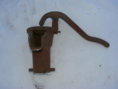 Vintage Cast Iron Hand Water Pump Part Handle~~ As Is  -Davey