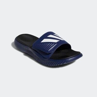 db0e21beb6fc7 New Adidas Men s Alphabounce Slide Sports Sandals Slippers - Blue White (F34774)