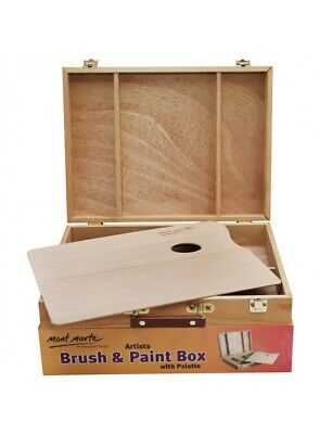 Mont Marte Large Brush/Paint Box with palette