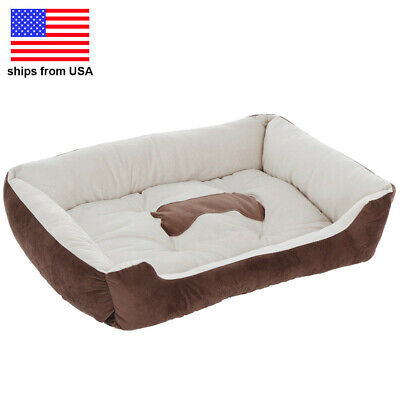 Large Pet Dog Cat Bed Puppy Cushion House Soft Warm Kennel Dog Mat Blanket Pad