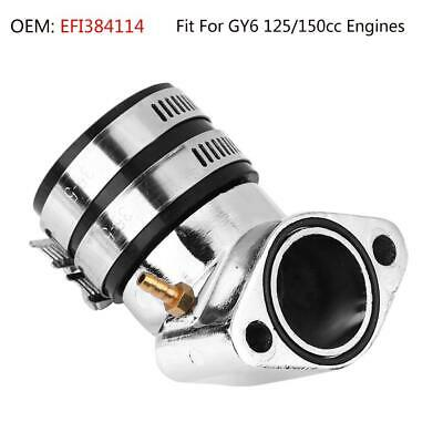 Atv Parts & Accessories Back To Search Resultsautomobiles & Motorcycles Responsible Intake Manifold Pipe Moped Scooter Atv Go Kart Engine Part For Gy6 125cc 150cc To Ensure Smooth Transmission