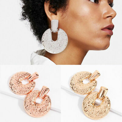 Statement Women Gold Dangle  Alloy Plated Boho Exaggerated Big Drop Earring