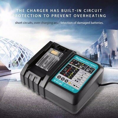 Makita DC18V RC Rapid Battery Charger Li-Ion Battery Fast Charging Power Tool AU