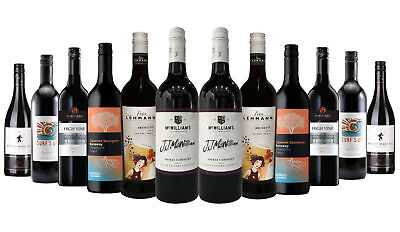 5 Star Winery Premium Explorer Red Mixed 12x750ml RRP$219 Free Shipping