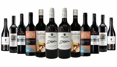 5 Star Winery Premium Explorer Red Wine Mixed 12x750ml RRP$219 Free Shipping