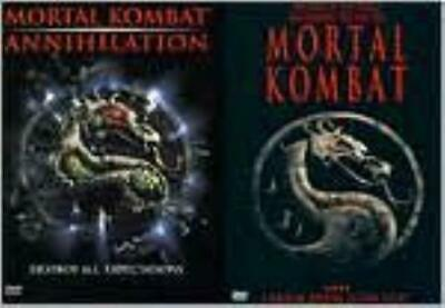 MORTAL KOMBAT: ANNIHILATION (Region 1 DVD,US Import,sealed)