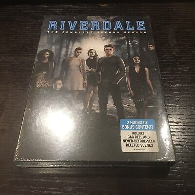 RIVERDALE: The Complete Second Season 2 (4-Disc DVD Boxed Set, 2018) ~ NEW
