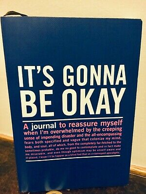 New It's Gonna Be Okay Journal.