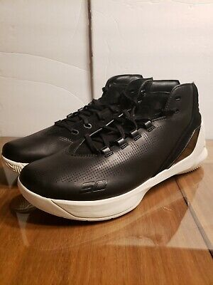 cae5bb9754f UNDER ARMOUR CURRY 3 Lux Black Limited Mens..sz 12...brand New ...